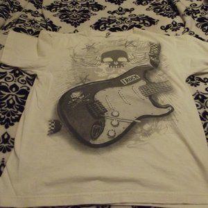 Vintage Irock Tee Shirt White Gray Youth XL Delta